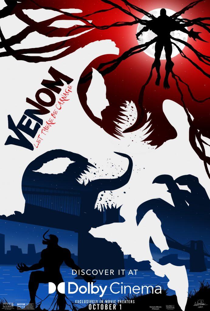 Nuevo póster de Venom: Let There Be Carnage