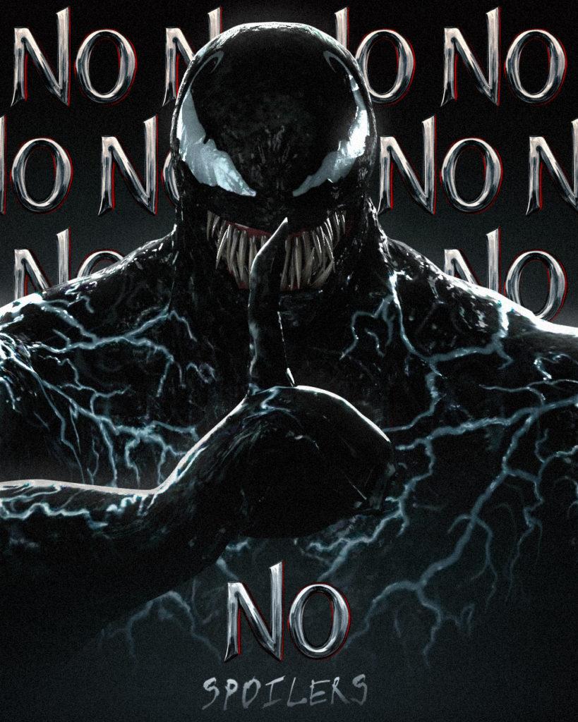Venom recomienda no hacer spoilers