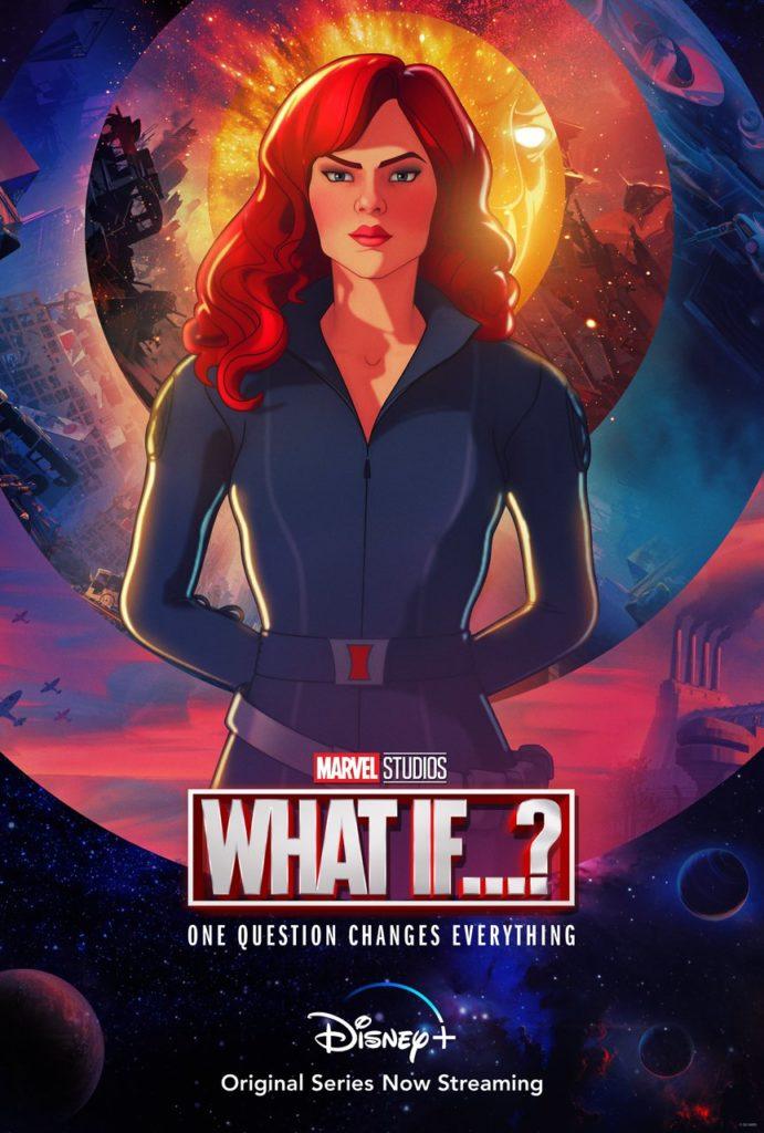 Póster de What If...? protagonizado por Black Widow