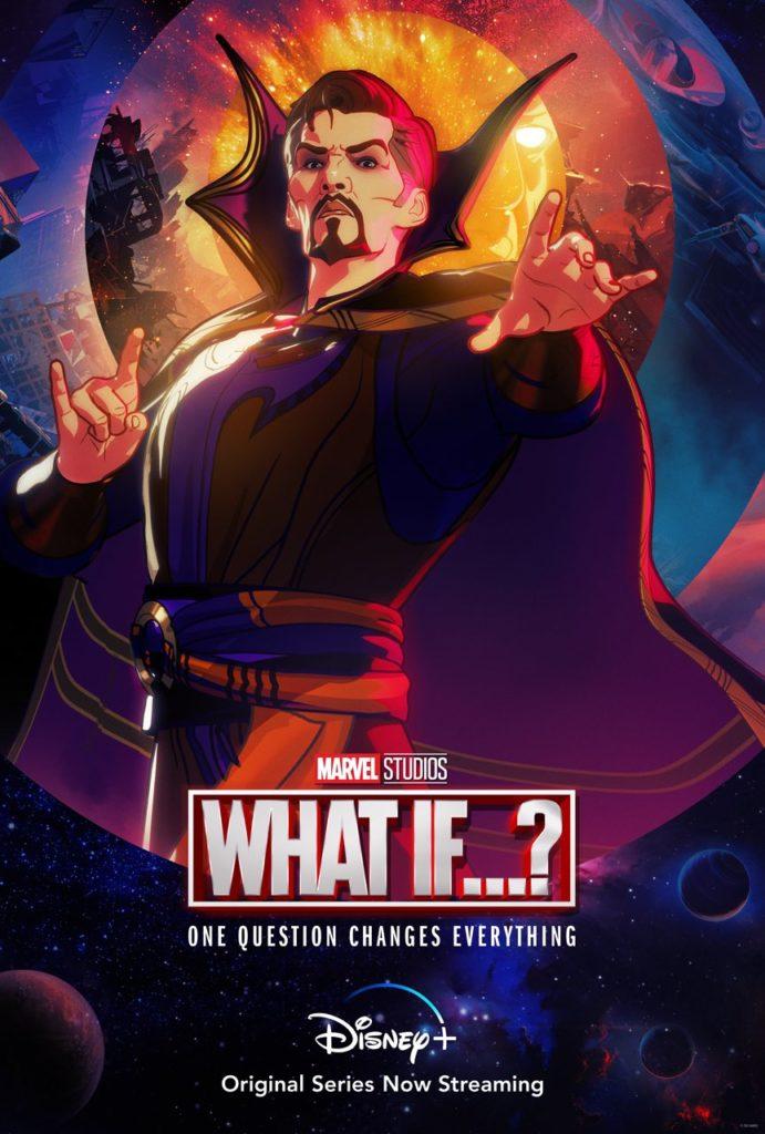 Póster de What If...? protagonizado por Stephen Strange