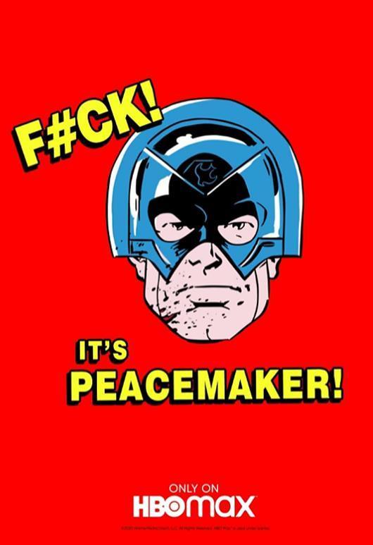 Primer póster de Peacemaker